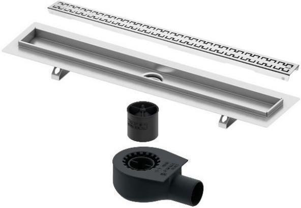 Душевой канал 843 мм нержавеющая сталь Tece TECEdrainline royal 600900 + 650000 + 660016 + 600941