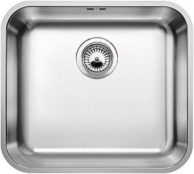 Фото - Кухонная мойка Blanco Supra 450-U полированная сталь 518203 кухонная мойка blanco supra 450 u 518203