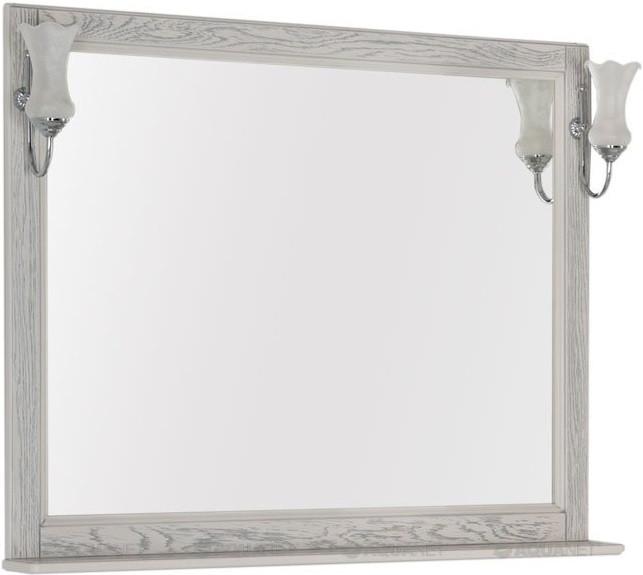 Зеркало 106,2х90,1 см жасмин/серебро Aquanet Тесса 00185819 jimmy fashion 7079 5
