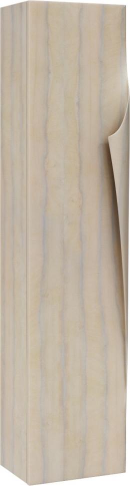 Пенал подвесной светлое дерево Clarberg Papyrus Wood Pap-w.05.35/LIGHT тумба под раковину aqwella clarberg papyrus wood 100 pap w 01 10 light подвесная светлое дерево
