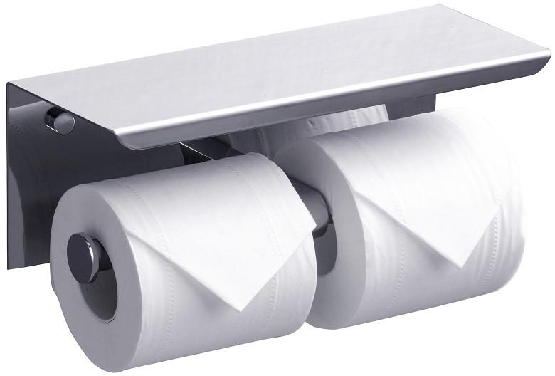 цена Держатель туалетной бумаги Rush Edge ED77142А онлайн в 2017 году