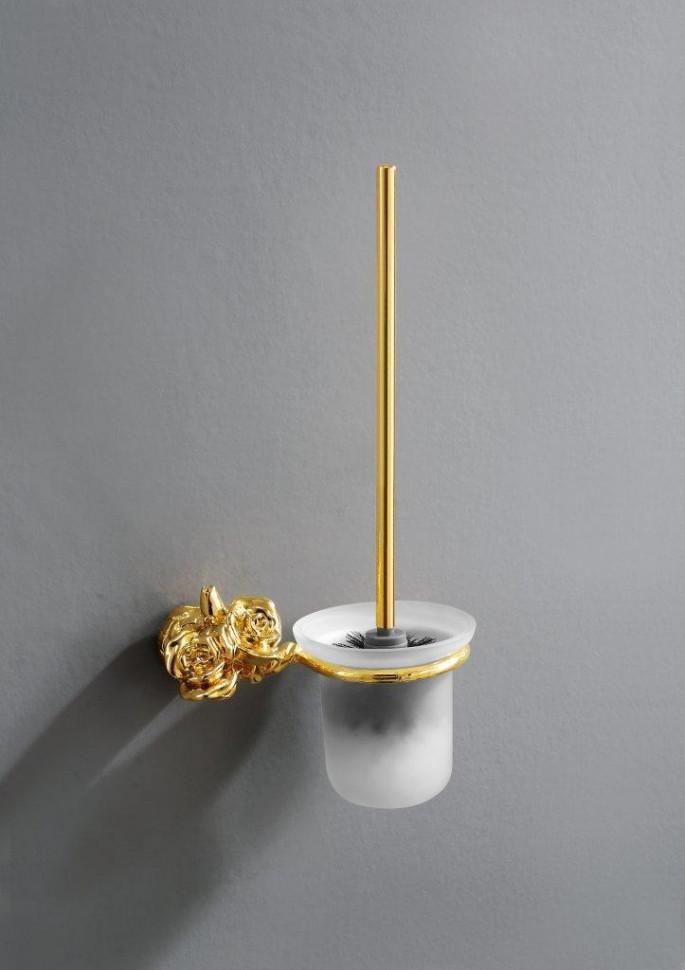 Ершик для унитаза золото Art&Max Rose AM-0911-Do