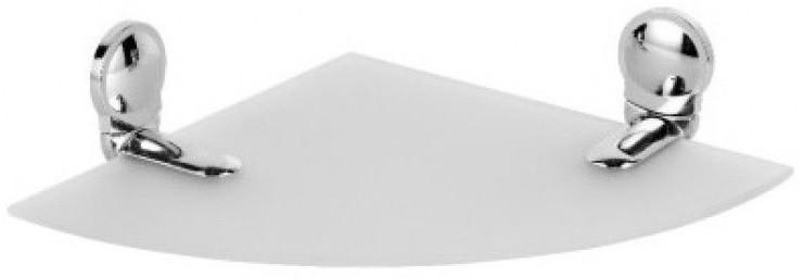 Полка угловая 20х20 см Fixsen Rosa FX-95003A полка стеклянная 50 см fixsen rosa fx 95003