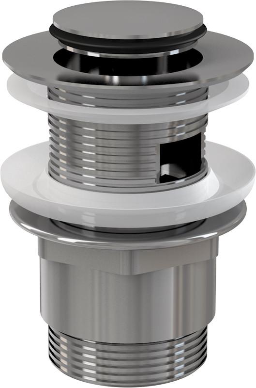 Донный клапан с переливом ClickClack AlcaPlast A39
