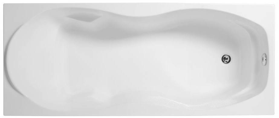 Акриловая ванна 170x70 см Aquanet Tessa 00205555 ванна aquanet roma 170x70