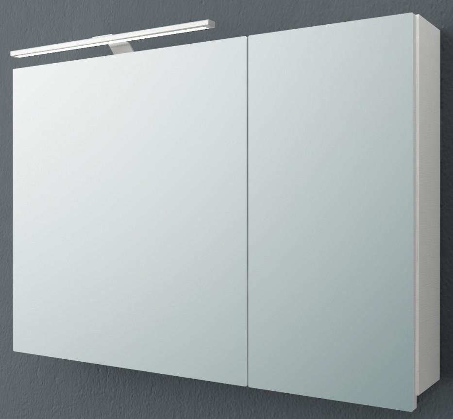 Зеркальный шкаф 90х62 см белый матовый L Kolpa San Jolie TOJ 90 WH.