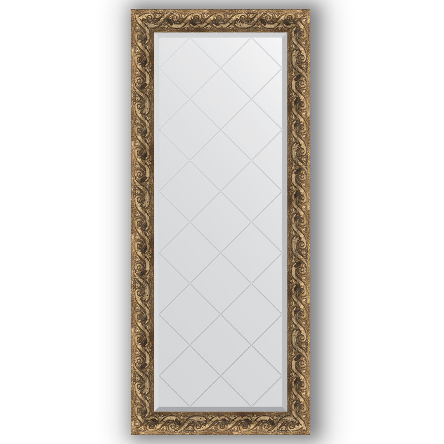 Зеркало 66х155 см фреска Evoform Exclusive-G BY 4141 зеркало evoform exclusive g 185х131 фреска