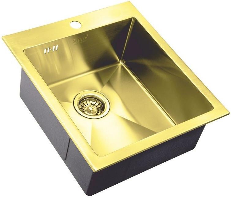 Кухонная мойка Zorg Inox PVD SZR-4551 BRONZE мойка кухонная zorg inox pvd szr 4551 bronze