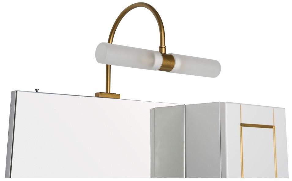 Светильник универсальный золото Aquanet Асти 00185941 цена и фото