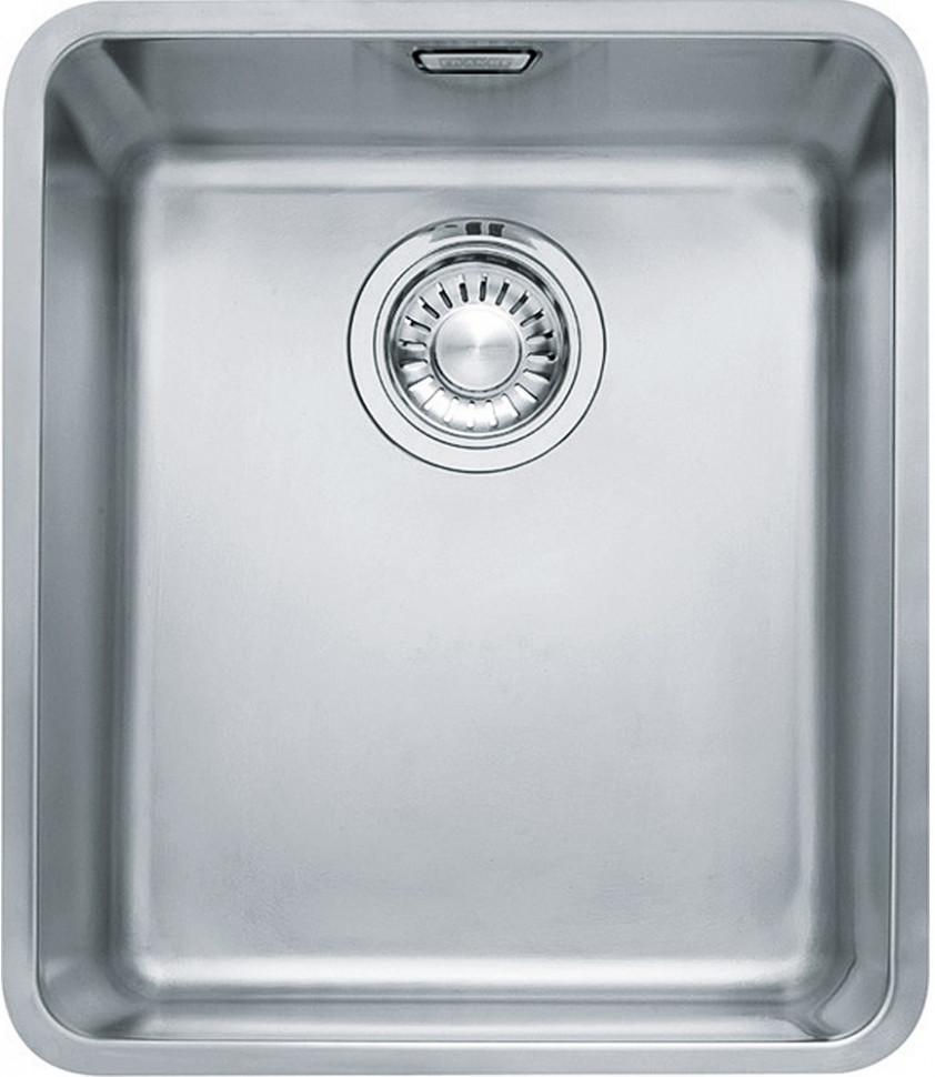 Кухонная мойка Franke Kubus KBX 110-34 полированная сталь 122.0036.607 franke kbx 110 34 нерж сталь зеркальная