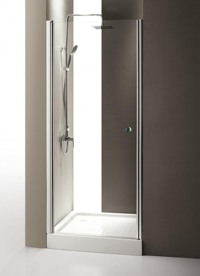 Душевая дверь распашная Cezares Triumph 90 см прозрачное стекло TRIUMPH-D-B-1-90-C-Cr