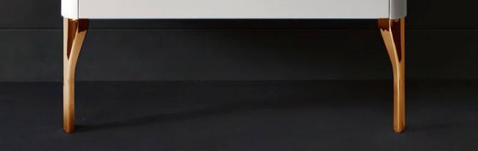 Ножки для тумбы золото Kerasan Waldorf 919491oro