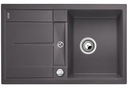 Кухонная мойка Blanco Metra 45 S-F темная скала 519086 все цены