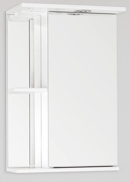 Зеркальный шкаф 45х73 см белый глянец Style Line Николь LC-00000115 фото