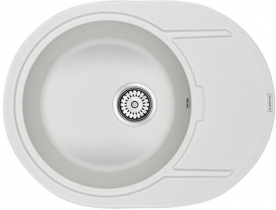 Кухонная мойка Paulmark Oval белый PM316502-WH