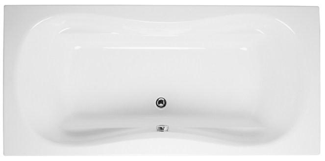Акриловая ванна 180х80 см Vitra Comfort 52680001000 акриловая ванна vitra matrix 170x80