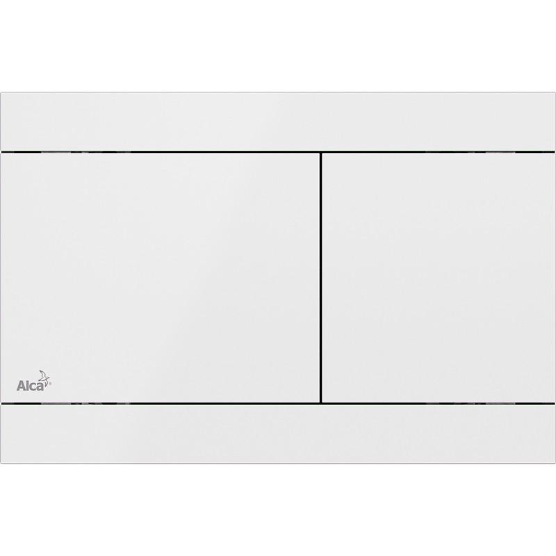 Смывная клавиша белый для двойного смыва AlcaPlast Colour FUN-WHITE цена