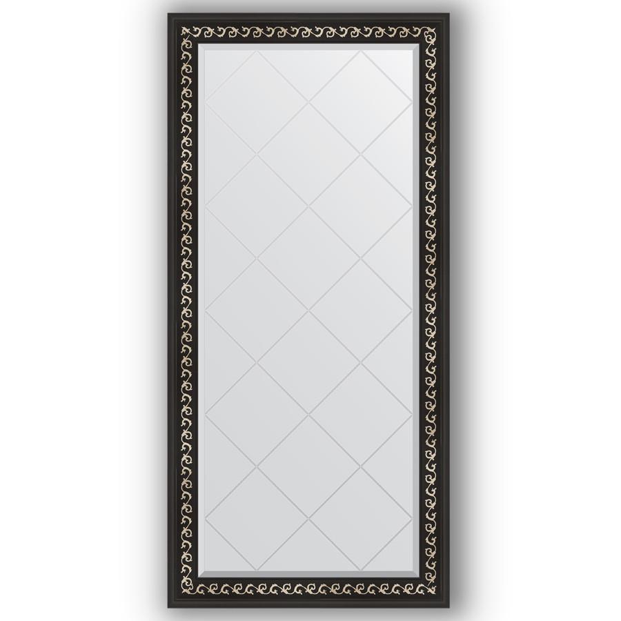 Зеркало 75х157 см черный ардеко Evoform Exclusive-G BY 4268