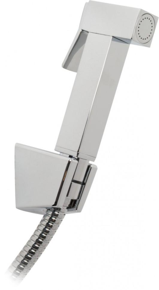 Фото - KAISER SH-341 Гигиенический набор мет. (хром) квадрат кронштейн