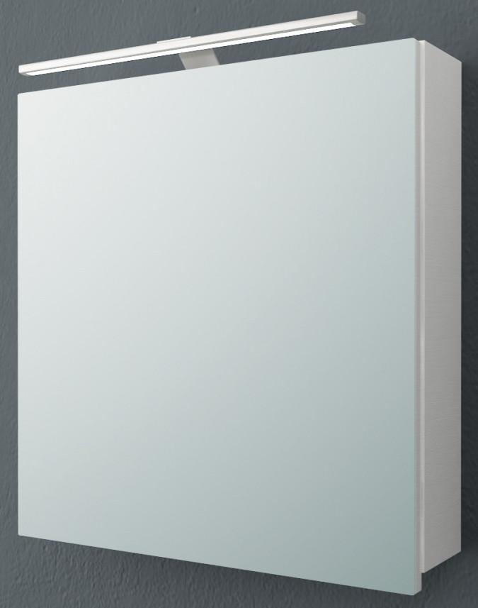 Зеркальный шкаф 60х62 см белый матовый Kolpa San Jolie TOJ 60 WH.