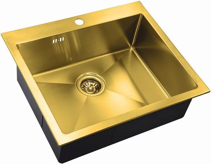 Кухонная мойка Zorg Inox PVD SZR-5951 BRONZE
