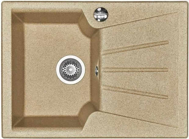 Кухонная мойка песочный Акватон Монца 1A716032MC220