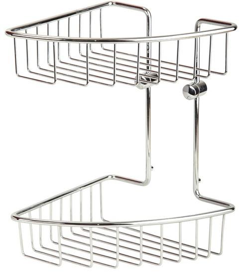 Полка угловая 20х20 см Veragio Baskets Cromo VR.GFT-9034.CR цена и фото
