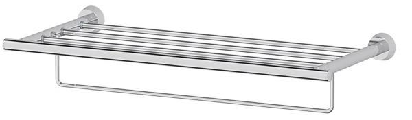 Полка для полотенец 60 см FBS Vizovice VIZ 042 полка 70 см fbs vizovice viz 017