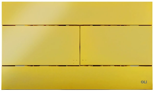 Смывная клавиша OLI Slim Oliveira золотой 154962 фото