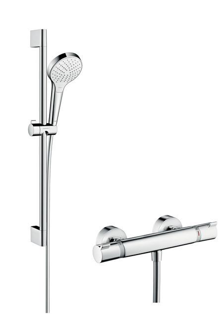 Душевой набор Hansgrohe Croma Select S Vario Combi 0,65 м 27013400 брошюровщик renz combi s