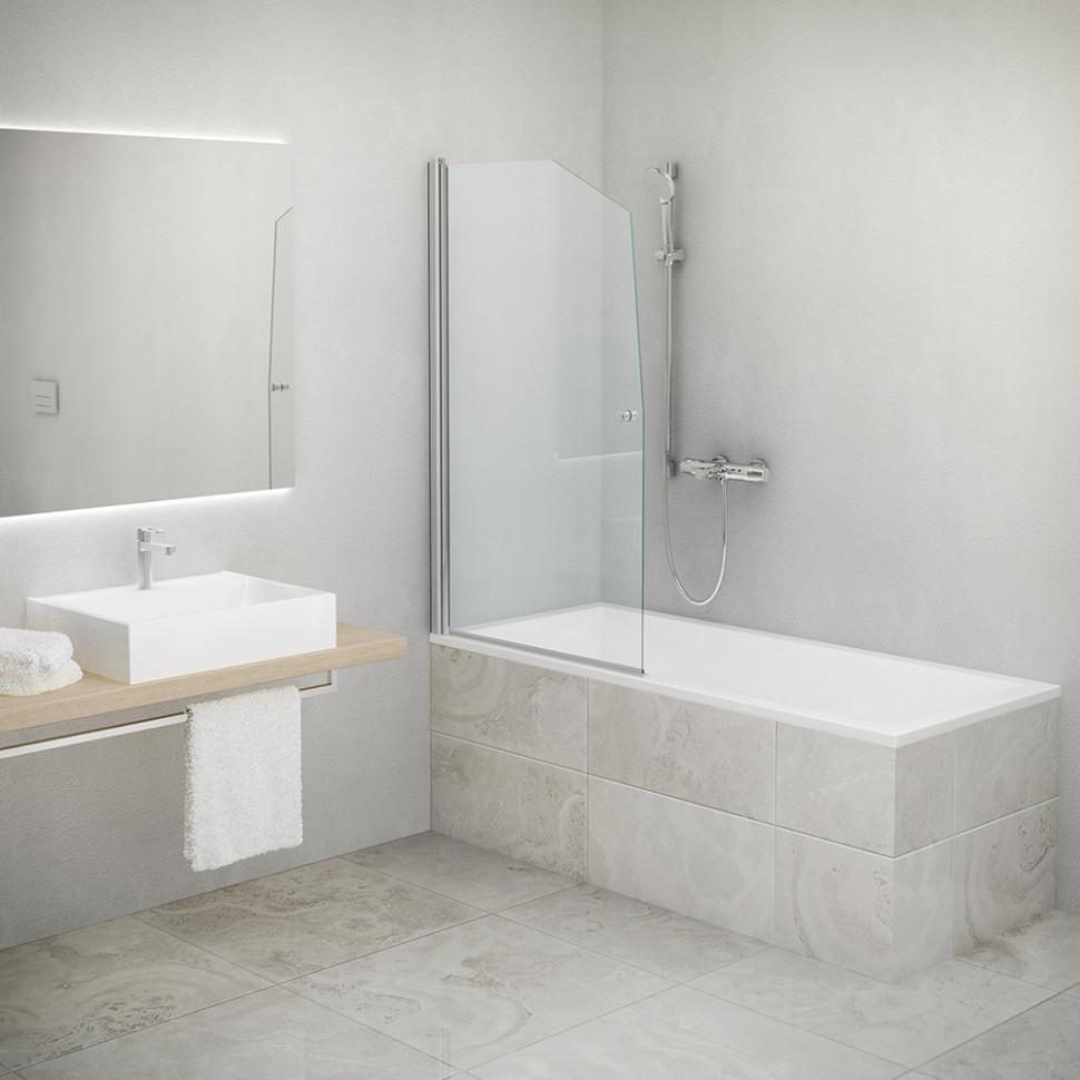 Шторка для ванны Roltechnik SWING/850 657-8500000-01-02 прозрачное фото