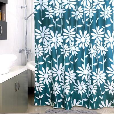 Фото - Штора для ванной комнаты Milardo Flowers Blue 950P180M11 шторка для ванной комнаты milardo brick wall 533v180m11