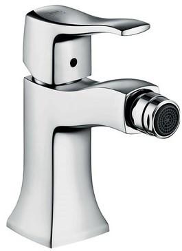 Смеситель для биде с донным клапаном Hansgrohe Metris Classic 31275000 hansgrohe metris classic 31275000 для биде