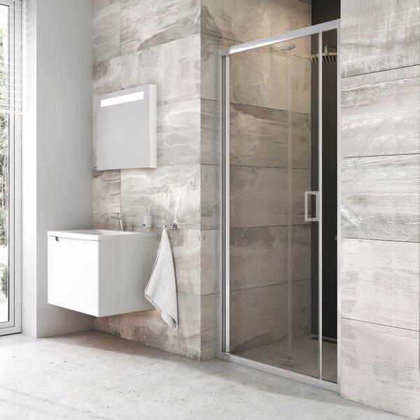 Душевая дверь 90 см Ravak Blix BLDZ2-90 X01H70C00Z1 прозрачное душевая дверь 80 см ravak blix bldz2 80 x01h40c00z1 прозрачное