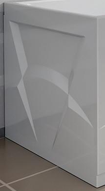 Торцевая панель левая 70 см Vannesa Орнела 2-31-0-1-0-202