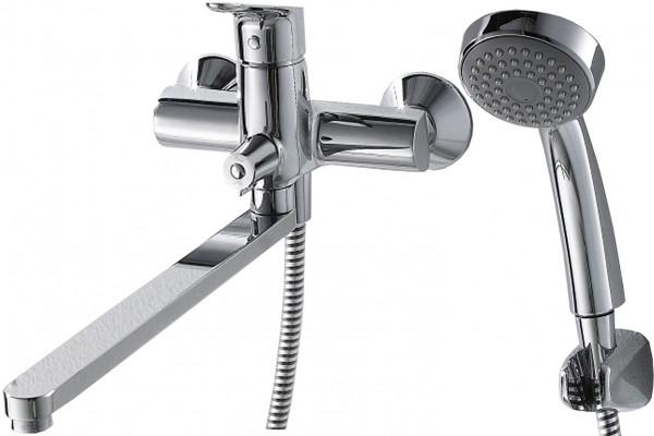 Смеситель для ванны Bravat Drop F64898C-LB