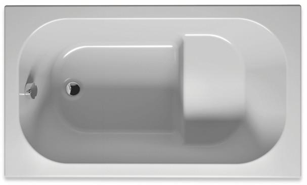 Акриловая ванна 120х70 см Riho Petit BZ2500500000000 сменные насадки для зубной щетки kids stages power oral b 2 шт