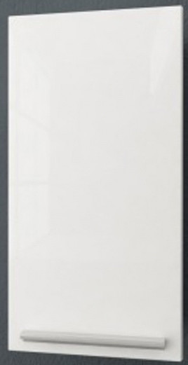 Шкаф одностворчатый белый глянец/белый матовый Kolpa San Jolie J602 WH