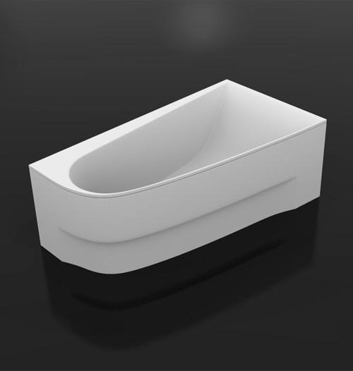 Акриловая ванна 160х90 см правая Vayer Boomerang 160.090.045.1-2.2.0.0 R