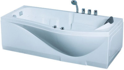 цена на Акриловая гидромассажная ванна 173х83 см L Gemy G9010E L