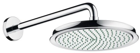 Верхний душ Hansgrohe Raindance Classic AIR Ø 240 мм, держатель 383 мм, ½' 27424000