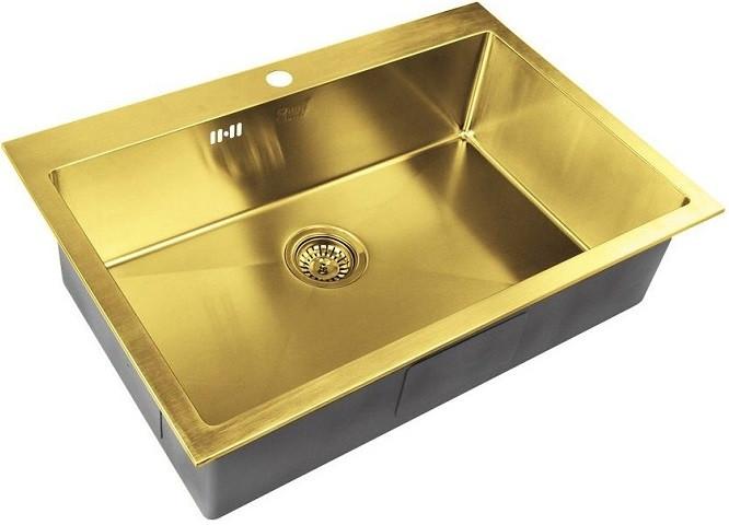 цена на Кухонная мойка Zorg Inox PVD SZR-7551 BRONZE