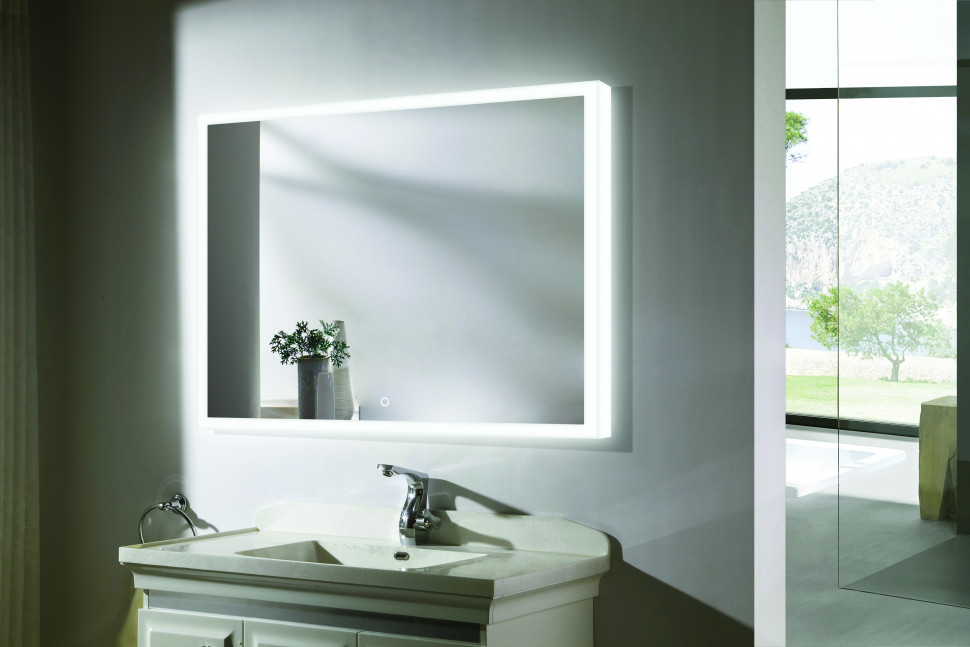 Зеркало с подсветкой 80х60 см Esbano ES-2542RD