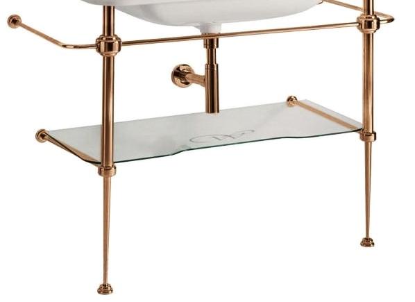 Консоль для раковины бронза Kerasan Waldorf 9196K3br фото