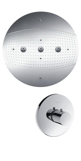 Верхний душ Hansgrohe Raindance Rainmaker Ø 600 мм Air 3jet, без подсветки, ½'28403000