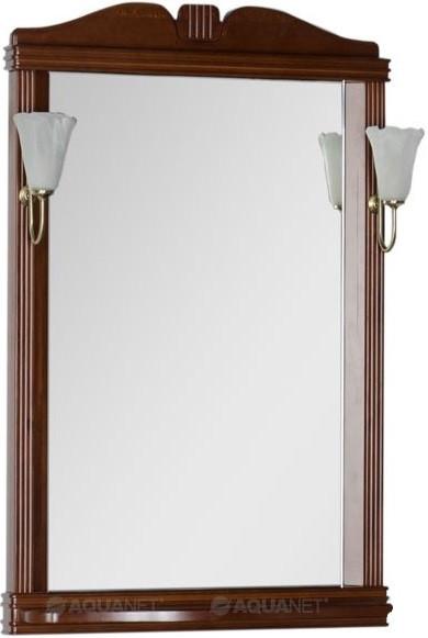 Зеркало 72,9х91,2 см орех Aquanet Николь 00180513