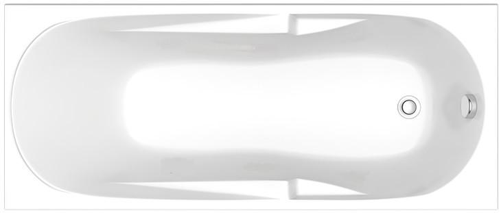 Акриловая ванна 170х70 см Bas Нептун ZB00026 фото