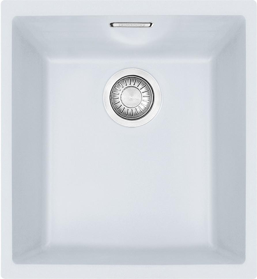 Фото - Кухонная мойка Tectonite Franke Sirius SID 110-34 полярный белый 125.0443.349 врезная кухонная мойка 56 см franke sid 610 полярный белый