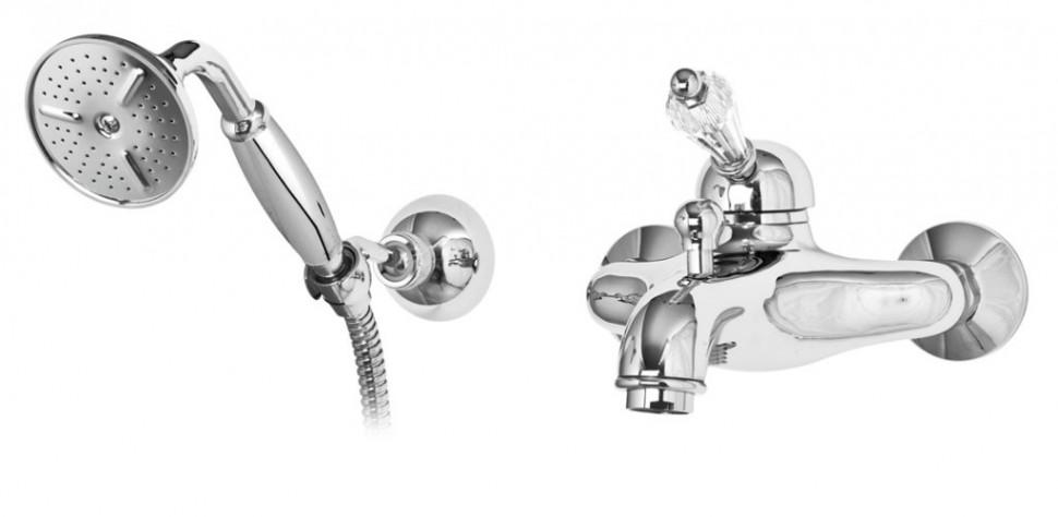 Смеситель для ванны хром, ручка Swarovski Cezares Vintage VINTAGE-VDM-01-Sw