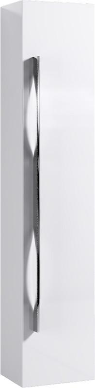 Пенал универсальный белый глянец Aqwella 5 Stars Milan Mil.05.35/W шкаф пенал aqwella 5 stars милан 35 mil 05 35 w белый